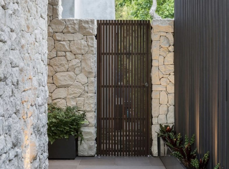 Home Entry Way Design with Security in Mind